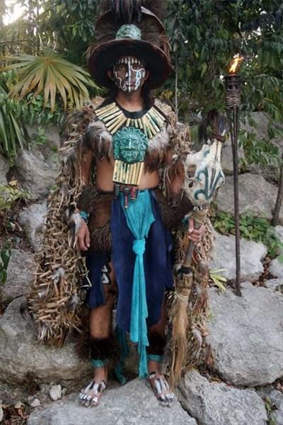 Шкарет. Индейцы