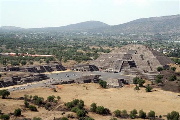 Археологический комплекс Теотиуакан