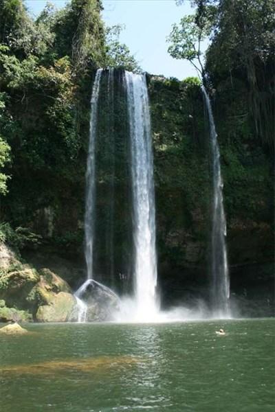 Водопад Misol-Ha