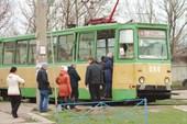 Трамвайчик на одной из конечных