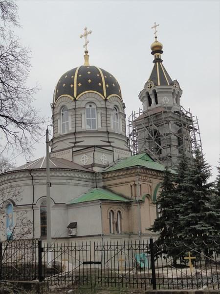 Сохранившаяся с царских времен церковь