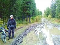 Дорога на ст. Тайга