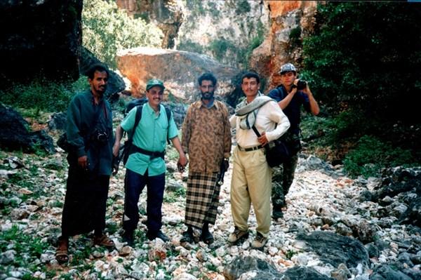 В ущелье по дороге к Giniba Cave