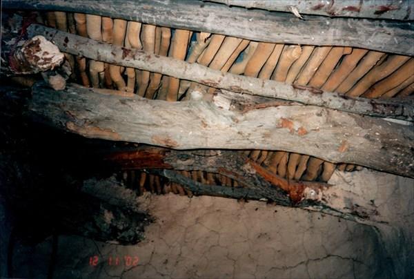 Потолок в хижине