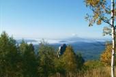 Долины плавают в тумане