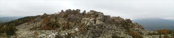 Вершинный гребень г. Ицыл