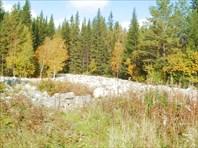 Каменная речка у Киалимского кордона
