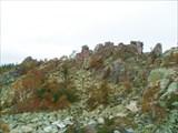 Гребень на южной вершине г. Ицыл