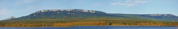 Панорама Зюраткульского хребта