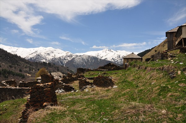 Халде - заброшенная деревня