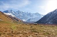 Стоянка после перевала Чхундер